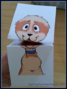 Charlie the Cavalier printed puppet