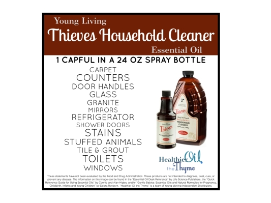 Thieves Cleaner - Healthier Oil the Thyme